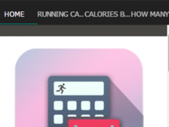 Running Calorie Calculator 2.3 Screenshot
