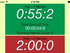 Running Interval Timer Lite 2.1 Screenshot