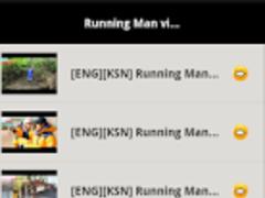 Running Man Videos 1.5 Screenshot