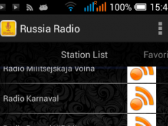 Russia Radio Station 1.0 Screenshot