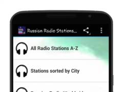 Russian FM Radio tuner 1.0 Screenshot