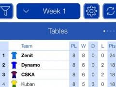 Russian Football 2016-2017 - Mobile Match Centre 1 Screenshot
