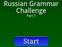 Russian Grammar Challenge p.1 1.0 Screenshot
