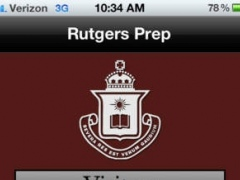 Rutgers Prep App 1.0 Screenshot