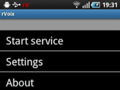 rVoix for rooted HTC Hero 1.0.6 Screenshot