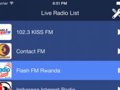 Rwanda Radio Live 1.0 Screenshot