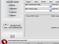 RZ DVD COPY Express 1.10 Screenshot