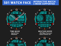 S01 WatchFace for Android Wear 7.0.1 Screenshot