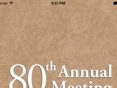 SAA 80th Annual Meeting 1.1 Screenshot