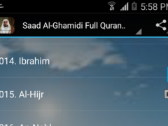 Saad Al-Ghamidi Full Quran mp3 1.0 Screenshot
