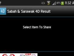 Sabah & Sarawak 4D Result 1.1.0 Screenshot