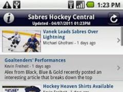 Sabres Hockey Central 2.9 Screenshot