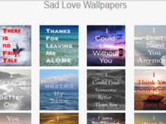 Sad Love Quotes Wallpaper 1.0 Screenshot