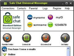 Safe Chat w/Parental Controls 1.8.7 Screenshot