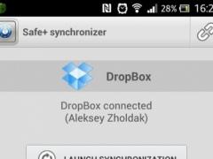 Safe+ synchronizer 1.09.1 Screenshot