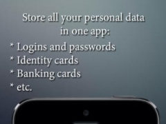 Safebook pro - save my personal data: logins, passwords, passports, etc or the best app for saving login password and all private data. 1.3 Screenshot