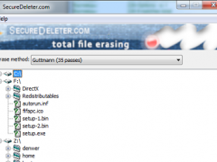 Secure Deleter 1.2 Screenshot