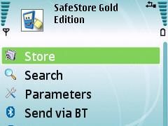 SafeStore Gold 3.0.0 Screenshot