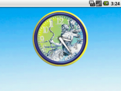 Sagittario Zodiac Analog Clock 1.0 Screenshot