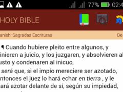 Sagradas Escrituras (Spanish) 5 Screenshot