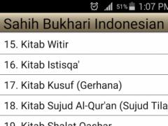 Sahih Bukhari Hadith Indonesia 1.0 Screenshot