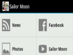Sailor Moon Fan App 1.0 Screenshot