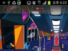 Sakiroo's Halloween Bus Atom 3.1 Screenshot