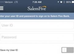 Salem Five Mobile 3.5.7.902 Screenshot