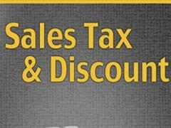 SalesTax & Discount Calculator 1.0.1 Screenshot