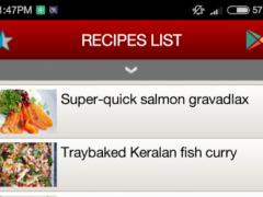 Salmon Recipes 2.0 Screenshot