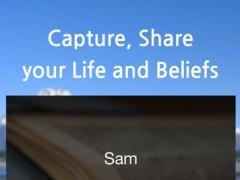 Sam - 샘, Capture, Share your Beliefs 1.4.2 Screenshot