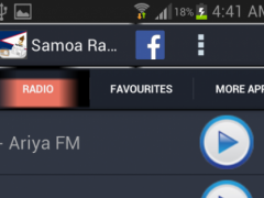 Samoa Radio News 1.0 Screenshot