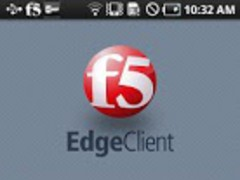 Samsung F5 BIG-IP Edge Client 1.0 Screenshot