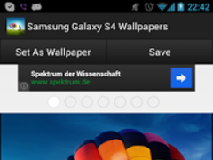 Samsung Galaxy S4 Wallpaper HD 1.05 Screenshot