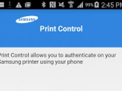 Samsung Mobile Print Control 2.29.150518 Screenshot