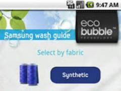 Samsung Wash Guide 1.0.4 Screenshot