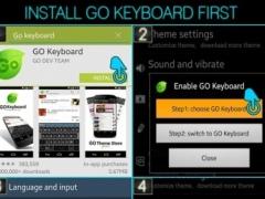 Samurai Keyboard Theme 1.0 Screenshot