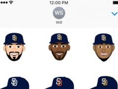 San Diego Padres 2016 MLB Sticker Pack 1.0 Screenshot