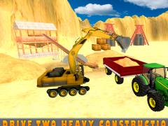 Sand Excavator Tractor Sim 1.0 Screenshot