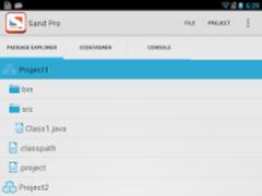 Sand IDE Pro for Java 1.1.8 Screenshot