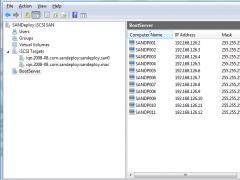 SANDeploy Boot Server 3.0 Screenshot