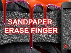 Sandpaper Erase Finger 1.1 Screenshot