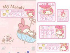 SANRIO CHARACTERS Clock2 1.0 Screenshot