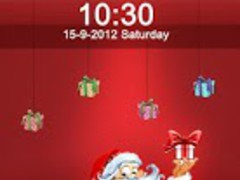 Santa Claus Lock Screen 1.0 Screenshot