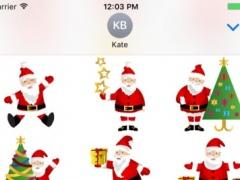 Santa Claus - Merry Christmas Sticker Vol 03 1.0.0 Screenshot