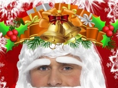 Santa Clause Beard Salon - Merry Christmas Sticker 1.0 Screenshot