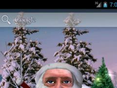 Santa Face Live Wallpaper 2.1 Screenshot
