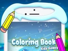 Santa Frozen Coloring Pages 1.0 Screenshot