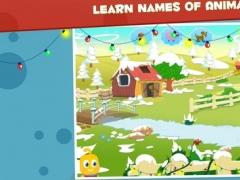 Santa Little Helper - Hidden Objects Scanning - Teaching Animal Names and Sounds for Montessori 1.4.0 Screenshot
