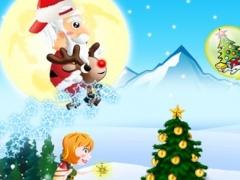 Santa's Christmas Jumping Adventure 1.0 Screenshot
